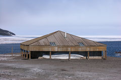 Discovery Hut built by Robert Falcon Scott's Discovery Expedition